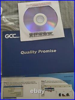 NEW GCC Expert LX 24 Vinyl Cutter Plotter with FREE Software