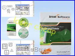NEW Original ARTCUT 2009 Vinyl Cutter Cutting Plotter Vinyl Sign making software