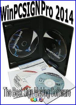 NEW Sign Max 30 Vinyl Cutter & WINPCSIGN Professional Software 2014
