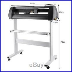 NEW US Cutter Vinyl Cutter / Plotter Sign Cutting Machine withSoftware + Supplies