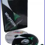 NEW WinPCSIGN BASIC 2009 for Vinyl Plotter, Cutter Software TITAN USCUTTER GCC