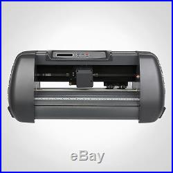 New 14 375mm Vinyl Cutter Cutting Plotter Desktop Machine Artcut Software