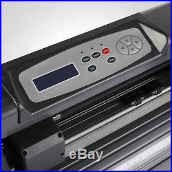 New 14 Vinyl Cutter Cutting Plotter Machine Artcut Software Desktop Cut Print