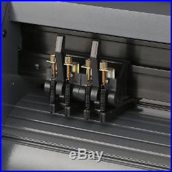 New 14 Vinyl Cutter / Sign Cutting Plotter Pro With Artcut Software Cut