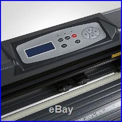 New 34 870mm Cutter Vinyl Cutting Plotter With Stand Machine Artcut Software