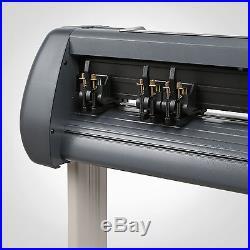 New 34 Vinyl Cutter / Sign Cutting Plotter Pro With Artcut Software Cut
