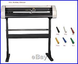 New 37Vinyl Cutter Cutting Plotter Machine+Artcut Software Free+12yard PU Vinyl