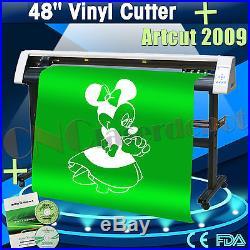 New 48 Vinyl Cutter REDSAIL Sign Sticker Cutting Plotter With Artcut Software