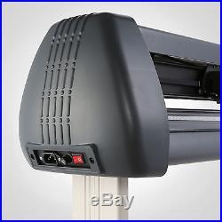 New 53 1350mm Cutter Vinyl Cutting Plotter With Stand Machine Artcut Software