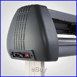 New 53 1350mm Vinyl Cutter / Sign Cutting Plotter Pro With Artcut Software Cut