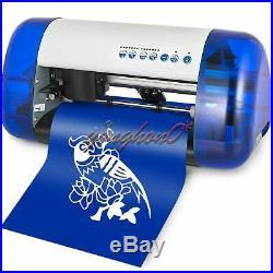New A4 Vinyl Cutter Cutting Plotter Carving Machine Portable Artcut Software DIY