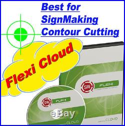 New Flexistarter 12 Cloud Vinyl Cutter Plotter best Contour Cutting