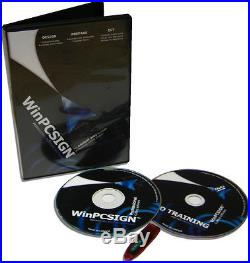 New Professional Software Winpcsign 2010 For Vinyl Cutter