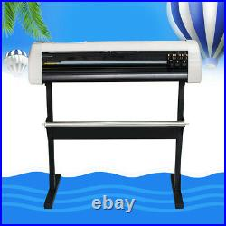 Pro 33 Electric Vinyl Cutter Plotter Sign Cutting Making Tool Machine Software