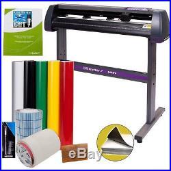 Professional Vinyl Cutter Machine Sign Software Design Making Cutting Kit 34