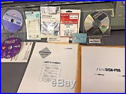 ROLAND CAMM-1 CX-24 Vinyl Cutter with Accessories, Software, Manuals, Stand