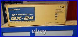 ROLAND CAMM-1 GX-24 Vinyl Plotter Cutter/Original Box/Software/User Manual/Cord