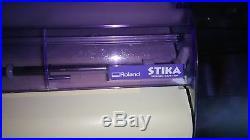 Roland Stika SX15 plotter vinyl cutter with Signlab 5.0 software