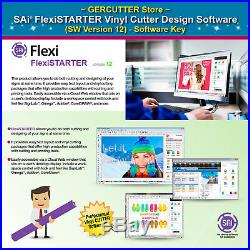 SAi FlexiSTARTER Vinyl Cutter Design Software (SW version 12) Software Key