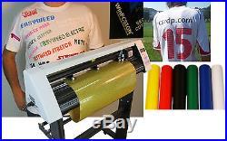 SM 24 vinyl cutter plotter, Unlimited software PRO 2014 T-shirt making kit