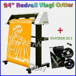Sign Cutting Plotter Vinyl Cutter 24 REDSAIL RS720C+ WinPCSIGN 2012 Software