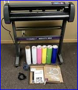 Sign Making Kit Vinyl Cutter with Design & Cut Software 34 inch Supplies Tools