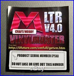 Sign Making Software Hobby Vinyl Cutter Plotter VinylMaster Ltr download-No Disc
