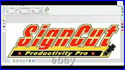 Signcut Productivity Pro FULL VERSION Life Time Activation Software for Cutters