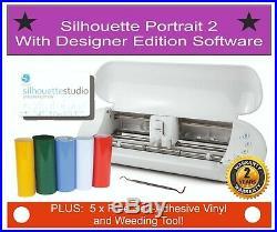 Silhouette Portrait 2, Vinyl Cutter, Plotter With Designer Edition Software