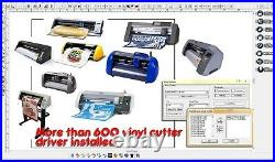 Software WinPCSIGN BASIC 2012 for all vinyl cutters machine