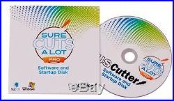 Sure Cuts A Lot Pro Vinyl Cutter Cutting Design & Cut Software Signs Graphics