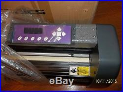 US CUTTER MH871 PLOTTER 34 VINYL CUTTER NEW IN BOX with Stand & Software