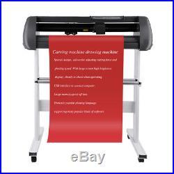 US Cutter 28 Vinyl Cutter Plotter KIT + Design/Cut Software Make Decals Signs