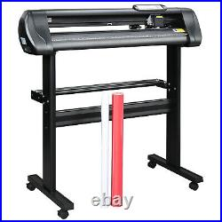 USA Ship 28 Feed Vinyl Cutter Plotter Machine with Stand&Software