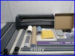 USCUTTER MH871-MK2 34'' Vinyl Cutting Plotter With Software And Supplies