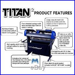 USCutter 15-inch Table Titan Vinyl Cutter with VinylMaster Cut Software