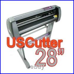 USCutter MH721 28in Vinyl Cutter with Stand, Accessories, Software, Transfer Tape