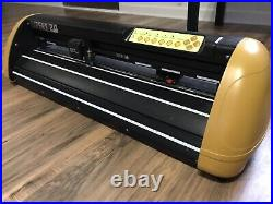 Used GCC Expert 24 HTV Vinyl Cutter Plotter Old Version WORKS GREAT No Software