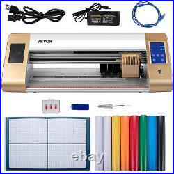 VEVOR 18 Vinyl Cutter/Plotter Sign Cutting Machine Software 3 Blades LCD Screen