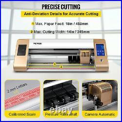 VEVOR 18 Vinyl Cutter/Plotter Upgrade Cutting Machine Sign Software LCD Screen