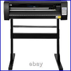 VEVOR 28 Vinyl Cutter/Plotter Sign Cutting Machine Software 3 Blades LCD Black