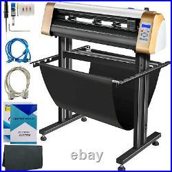 VEVOR 28 Vinyl Cutter/Plotter Sign Cutting Machine Software 3 Blades LCD Screen