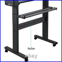 VEVOR 28 Vinyl Cutter Plotter Sign Cutting Machine Software 3 Blades LCD Screen