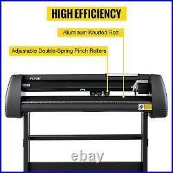 VEVOR 28Vinyl Cutter Machine Vinyl Plotter LCD Display with Signmaster Software