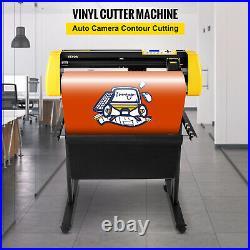 VEVOR 34 Vinyl Cutter/Plotter Sign Cutting Machine Software 3 Blades LCD Screen