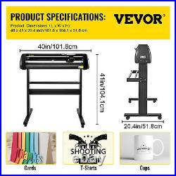 VEVOR 34 Vinyl Cutter / Plotter, Sign Cutting Machine withSoftware + Supplies
