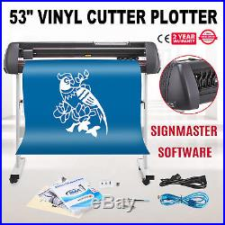 VINYL CUTTER WithSIGNMASTER SOFTWARE WITH STAND 53INCH OPERATIONAL FEEICIENCY