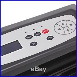 VINYL CUTTER WithSIGNMASTER SOFTWARE WITH STAND LED Display NEWEST ADVANCED TECH