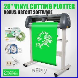 Vinyl 28 720mm Cutting Plotter Contour Cut Artcut Software Cutter Sign Making