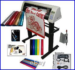 Vinyl Cutter 30 + UNLIMITED SOFTWARE WinPCSIGN PRO 2014 + Vinyl Starter kit